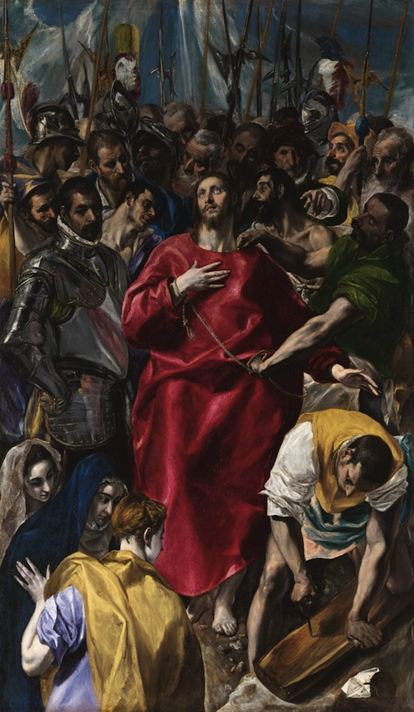 The Disrobing of Christ, El Greco (1579)