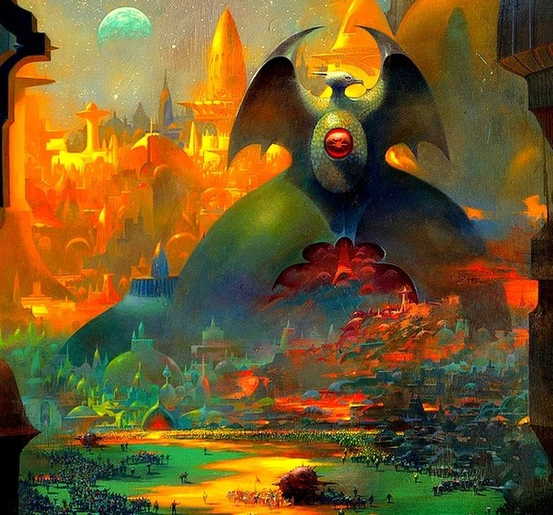 painting by Paul Lehr