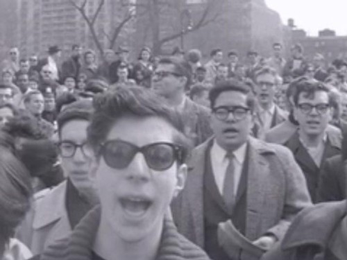3000 Beatniks Riot in Washington Square Park