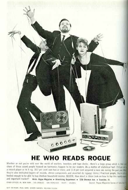 Severin Darden, He Who Reads Rogue publicity photo