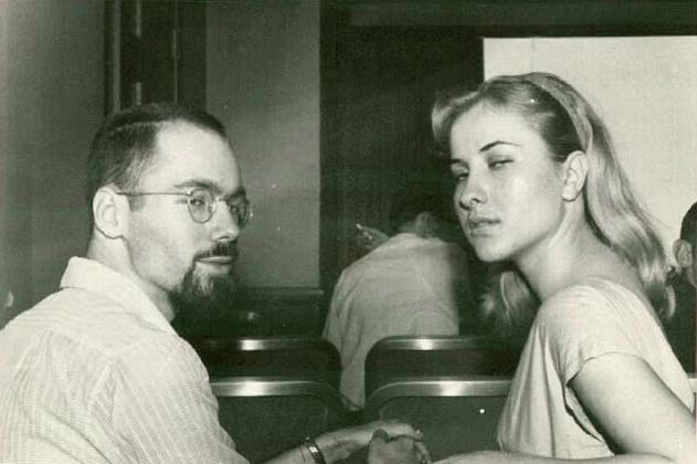 Ted and Sylvia White, 1959