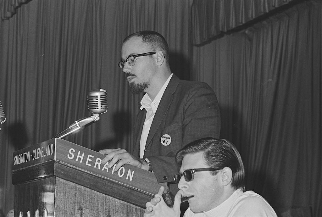 White and Ellison, Nycon 3 bid, Tricon 1966, photo: Jay Jay Klein
